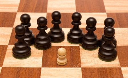 little black pawn, please check out my portfolio for more! Stock Photo