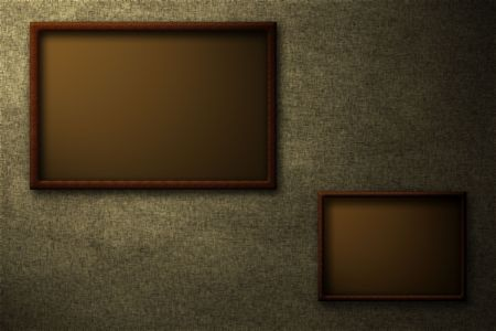 beautiful brown frames over a textured background