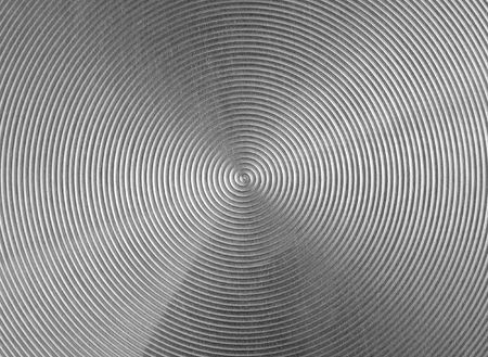 gray metal texture background with circular shape Stock Photo