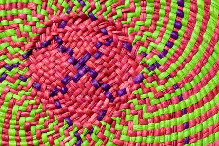 sackcloth: colorful basket texture for use as background
