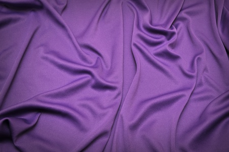 purple satin fabric texture for background use Stock Photo - 8344420