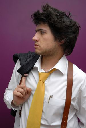 Handsome youn man Stock Photo - 4191861