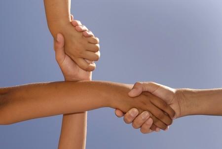 possibility: Crossed handshake