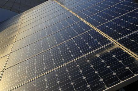 alternate: Detail of solar panels pattern