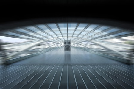 Modern train station in Lisbon, Portugal Stock Photo - 7490253