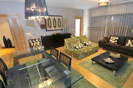 Modern apartment living room decoration Stock Photo - 8103587