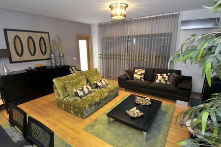 Modern apartment living room decoration Stock Photo - 8103572