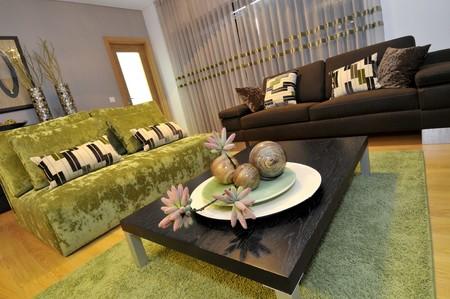 Modern apartment living room decoration Stock Photo - 8103605