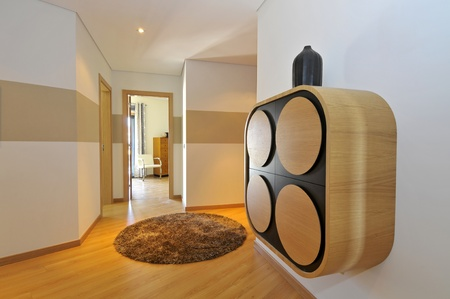 Modern apartment hall decoration photo