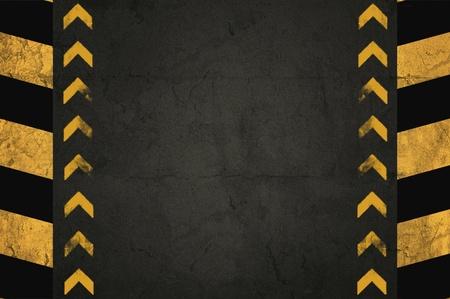 グランジ背景、アスファルトや黄色の縞模様の壁の詳細 写真素材 - 11149382