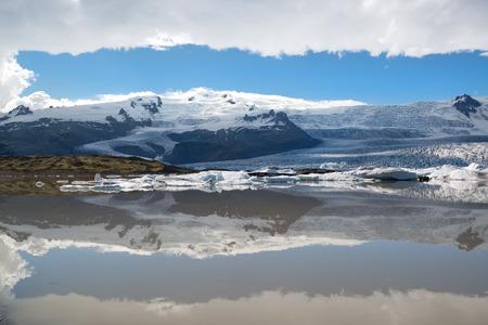 fjallsarlon: Fjallsarlon lagoon in Iceland