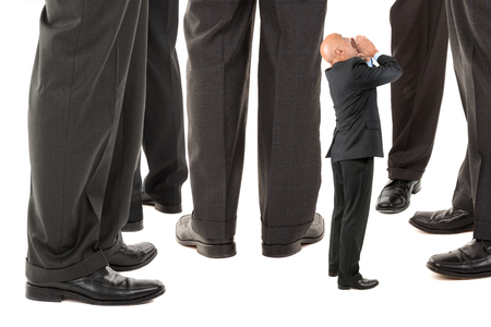 heard: Small businessman trying to be heard amongst big business players