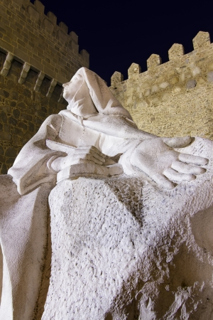 monument to St  Teresa of Jesus