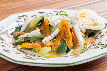 calabacin: ensalada de calabac�n Foto de archivo