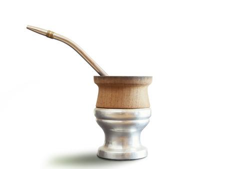 yerba mate: tradicional yerba mate té popular en américa latina