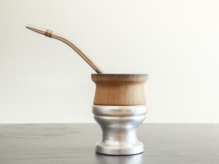 mate: traditional yerba mate tea popular in latin america