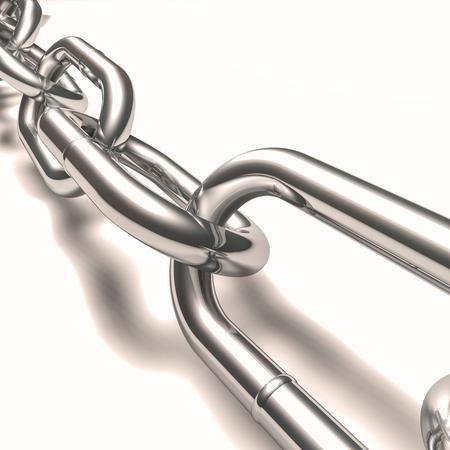 linkage: steel chain