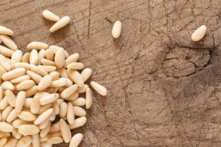 Iberian pine nuts Stock Photo