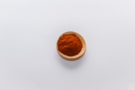 red peppers: various spices to cook a variety of flavors Red peppers