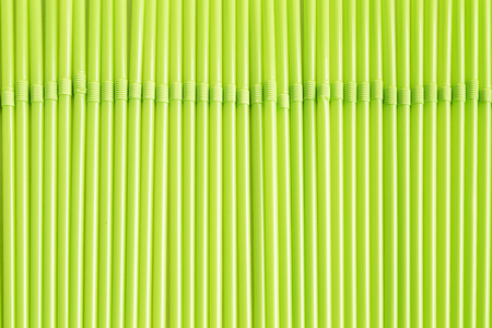 straw green bottom of flexible tube for advertising