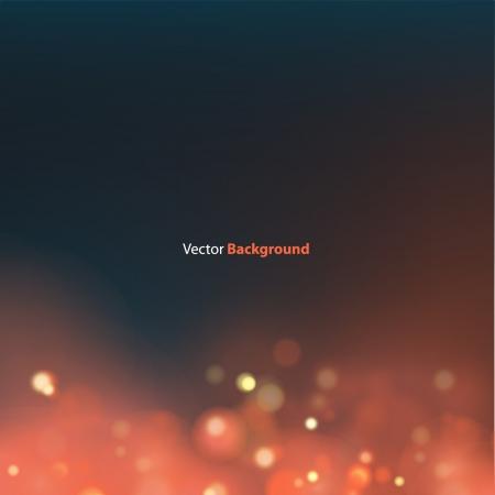 Beautiful lighting night unfocused in red  Vector Design Stock Vector - 16502013
