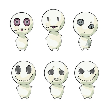 Various monsters  Vector Design  Vector