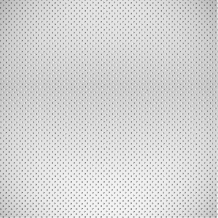 metal background: Iron dots.  Illustration