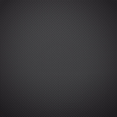 Black dots in iron background. Stock Vector - 16851795