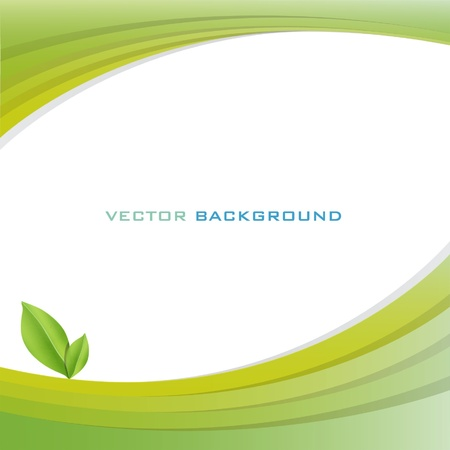 Bio green surface. Ecology background. Stock Vector - 16867637