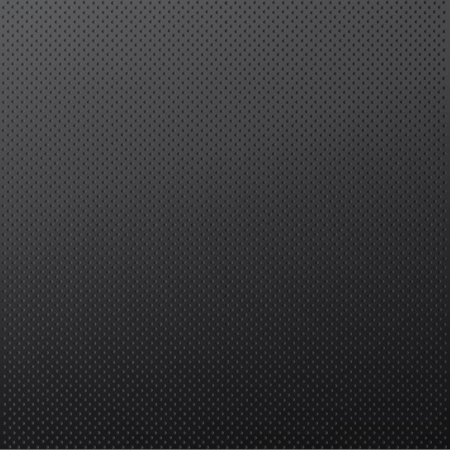 Black dots in iron background. Vector design.