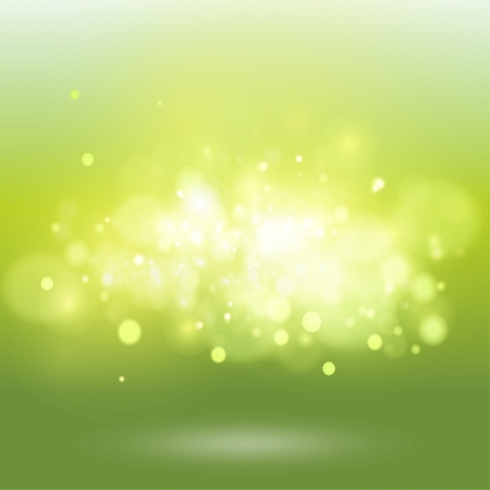 Green background with brightness. Vector design.  Vector