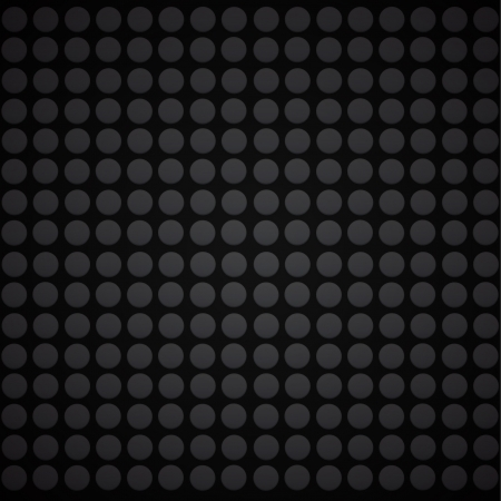 Black dots in black background.