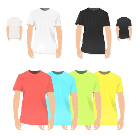 Colorful collection of shirt design design Stock Vector - 17150315