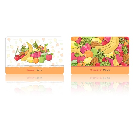 Modern business card  Vector design Stock Vector - 17265537