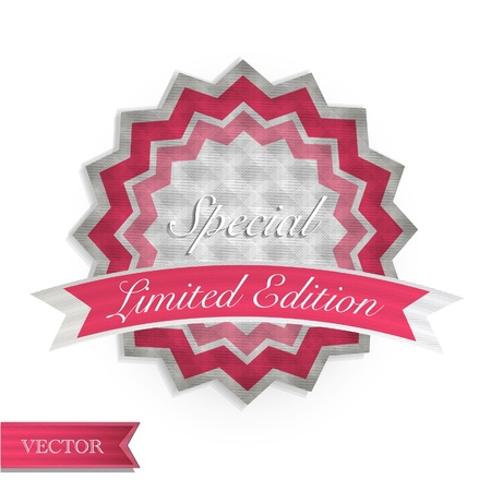 Set of vintage labels  Vector design   Stock Vector - 17265571