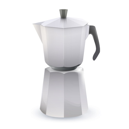 Coffee pot. Vector design Vector