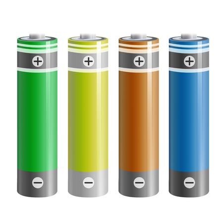 Realistic battery  Vector design Stock Vector - 19198336