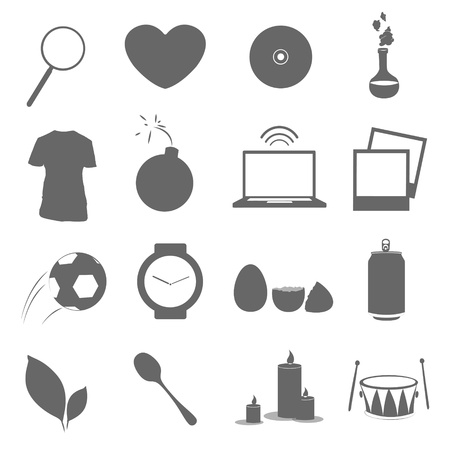 Collection of icons. Vector design. Stock Vector - 19355675