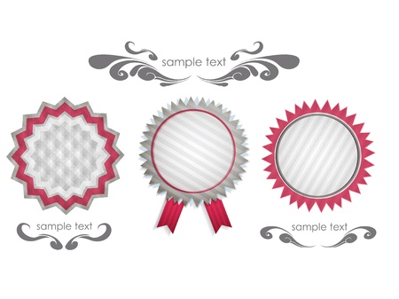 Set of labels  Vector design  Vector