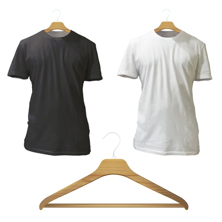 shirts and hangers  Vector design  Vector