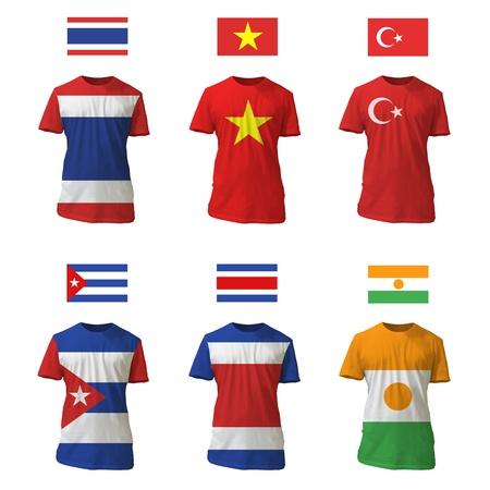adult vietnam: National shirt design.
