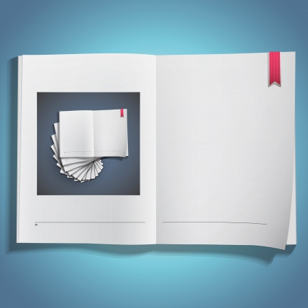 book printed on book  Vector design Stock Vector - 21025006