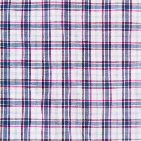 Blue and red checkered pattern texture. Abstract background  photo