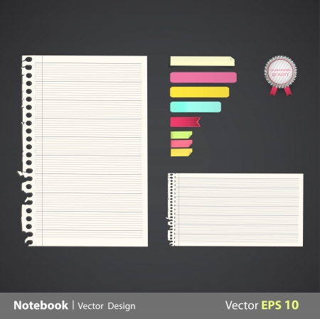 Sheet of sheets with linen  Vector design   Stock Vector - 22785761