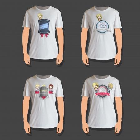 camicia bianca: Set di progettazione camicia bianca