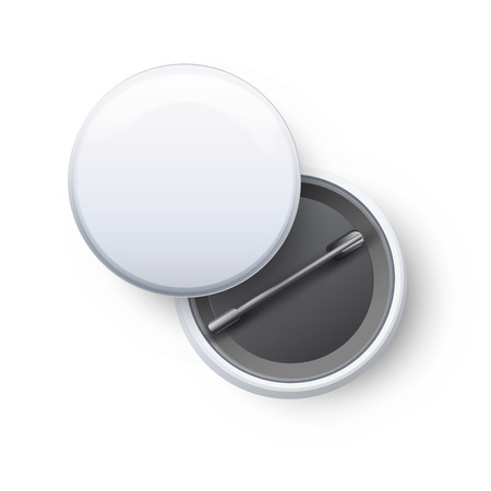 Badges on white background. Vector design.