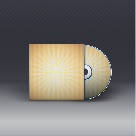 Cd with cover.