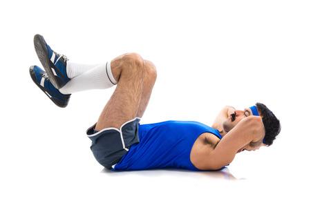 sportman: Sportman doing abs