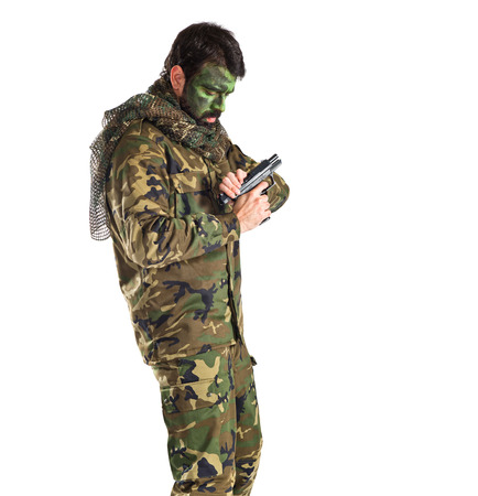 special service agent: war man