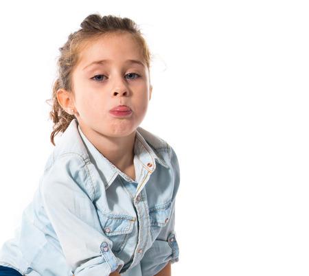 blonde hispanic: kid